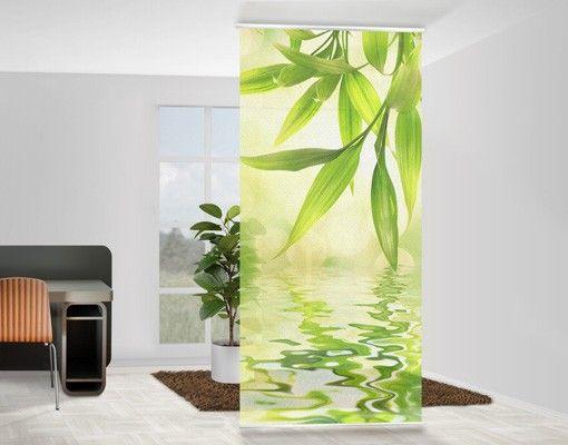 raumteiler | vorhang - green ambiance i 250x120cm | raumteiler, Innedesign