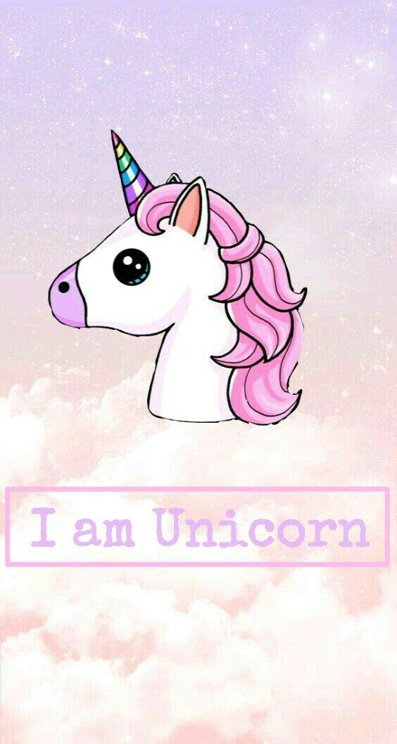 Unicorn Fond Ecran Kawaii Licorne Image Fond Ecran