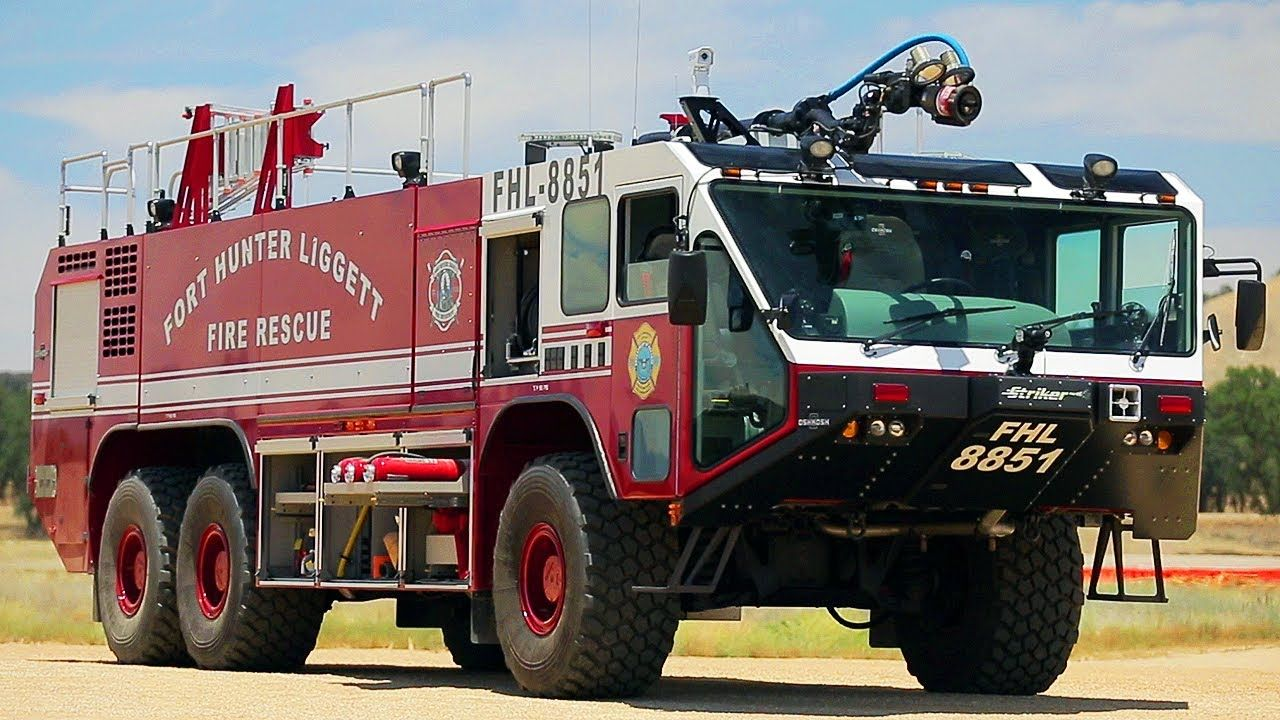 Off Road Fire Truck >> Taking A Military Fire Truck Off Road Dirt Every Cars