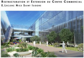 Restructuration et Extension du Centre Commercial E.Leclerc Nice Saint-Isidore