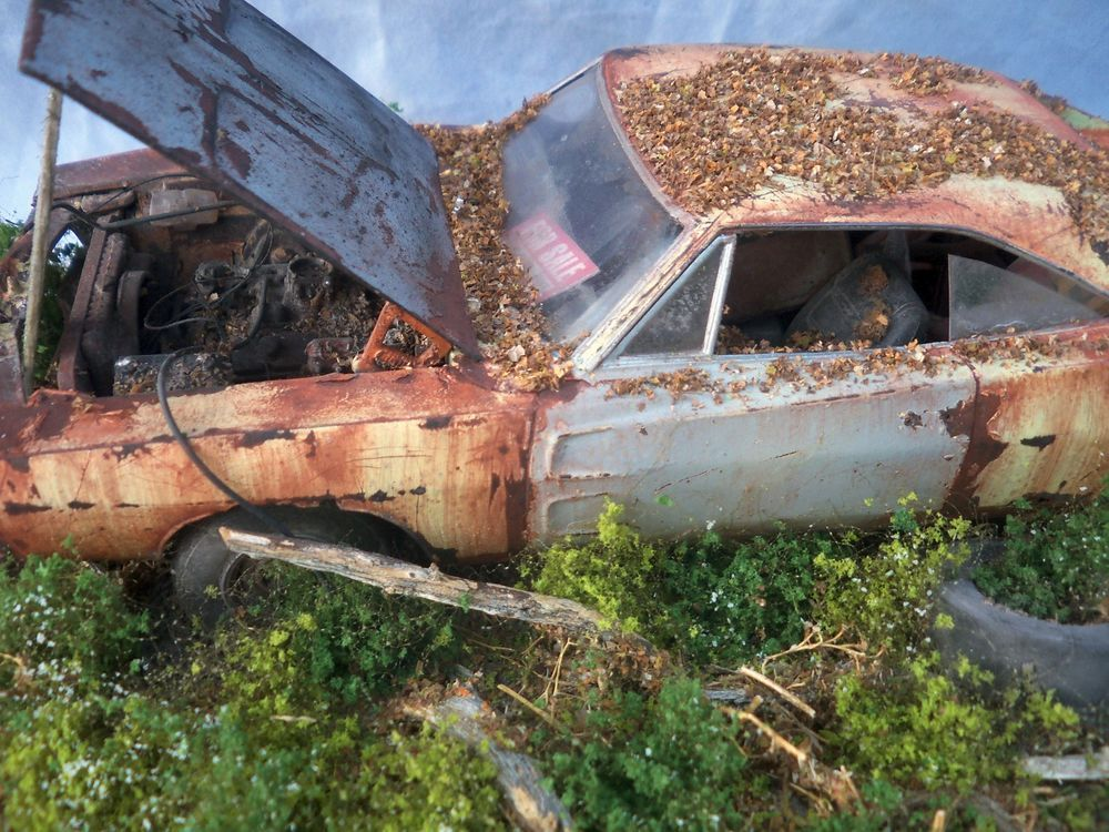 Details About 1968 Dodge Charger Rt Barn Find Weathered