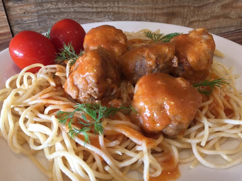 Tefteli (Russian meatballs) is a new addition to Babushka ...