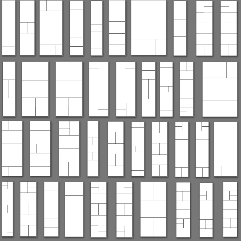 Adobe Lightroom 5,6, and CC Print Template Collection