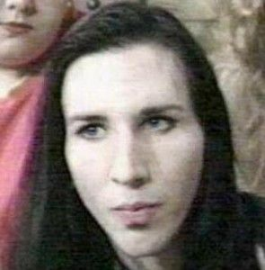 Marilyn Manson without makeup before and after