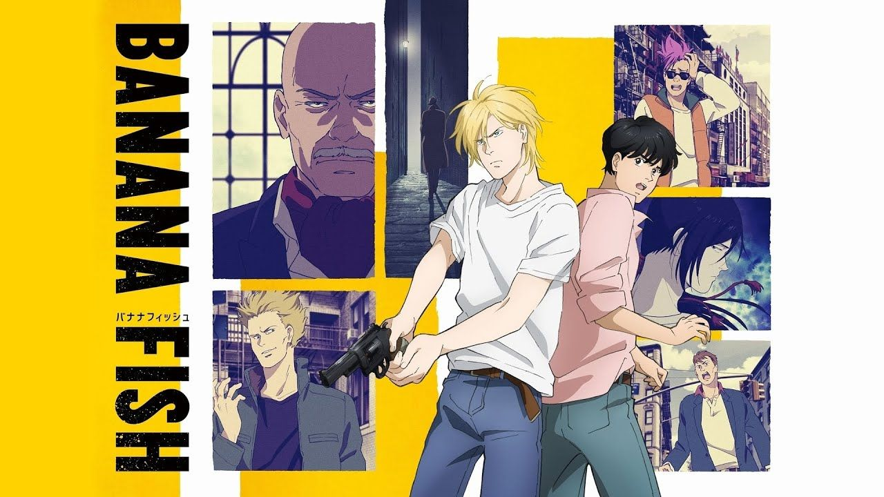 Banana Fish OP/Opening found & lost / Survive Said The