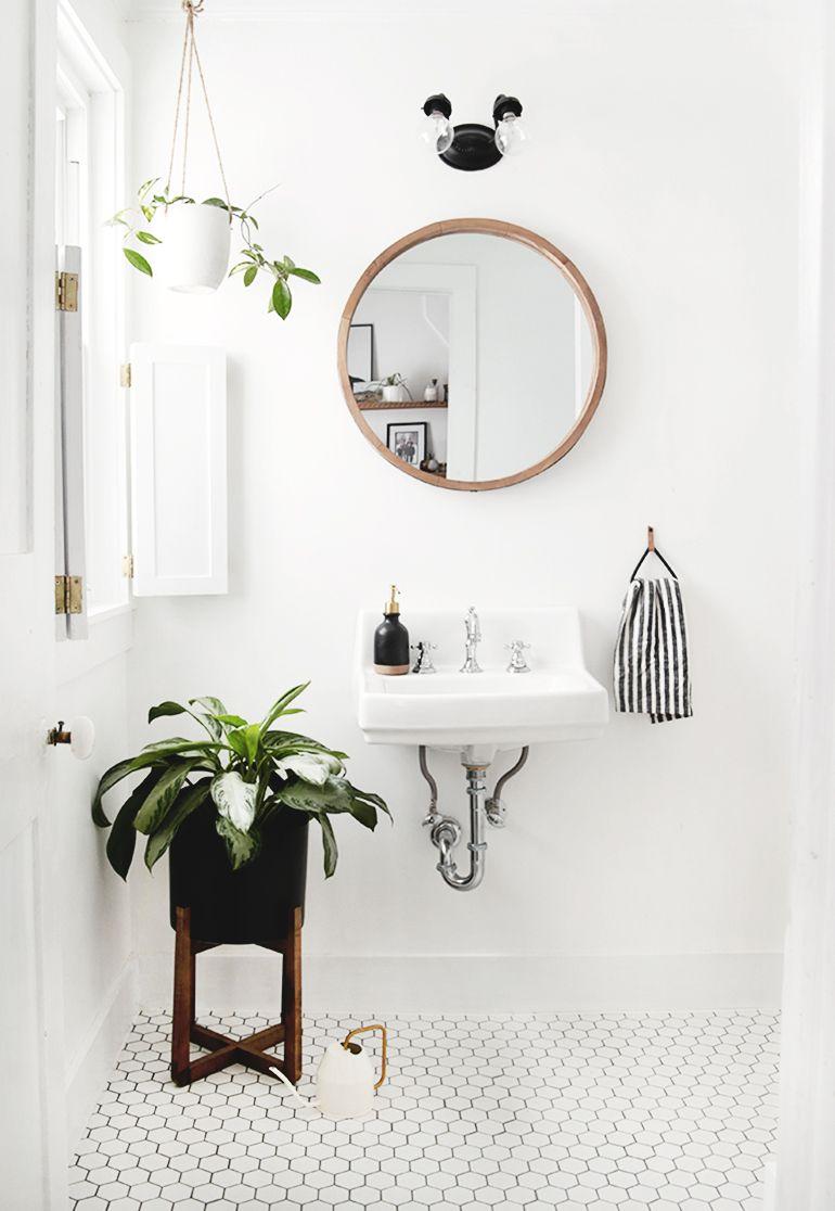 Small Modern Vintage Bathroom  Modern vintage bathroom, Small