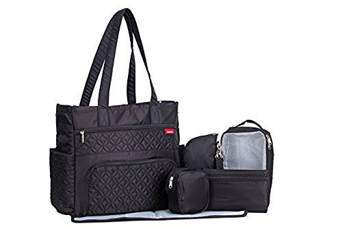 SoHo Collection, Williamsburg 6 pieces Diaper Tote Bag set * Limited Tme Offer! * (Classic Black), http://www.amazon.com/dp/B017PE896A/ref=cm_sw_r_pi_awdm_x_1bv8xb0PRFZ19