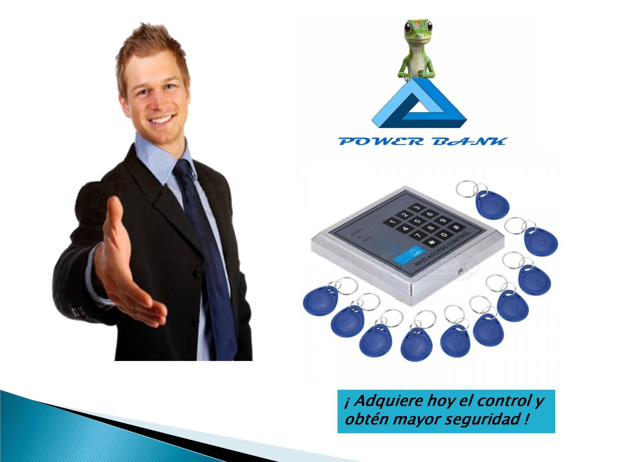 Control Rfid De Acceso + Contraseña Con 10 Llaves - Bs. 549.990,00