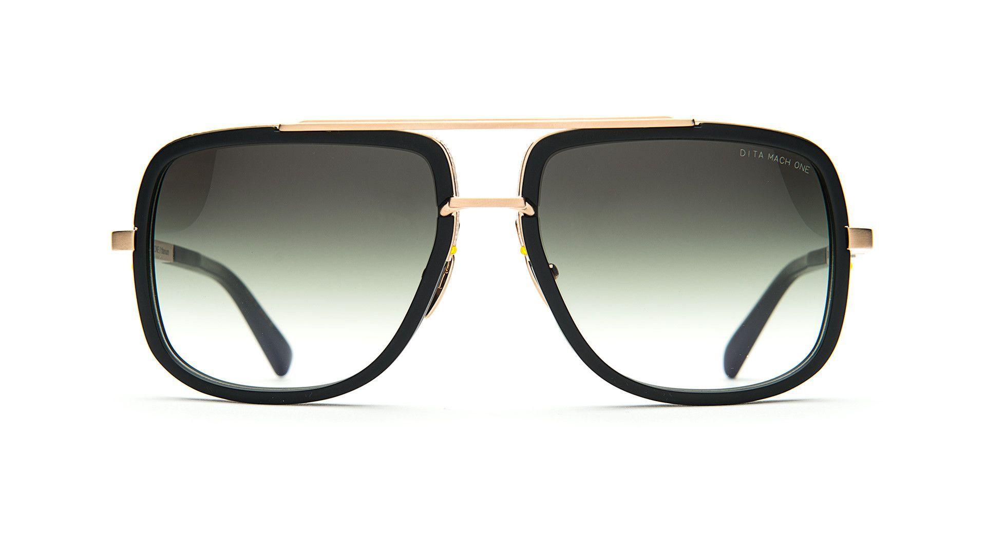 MACH ONE-Matte Black / Matte Gold / G15 Gradient-59/15