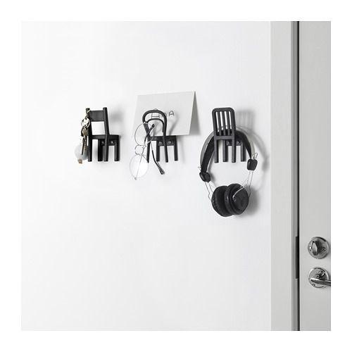 Fjantig Hook Black Ikea Ikea Space Saving Storage Ikea Catalog