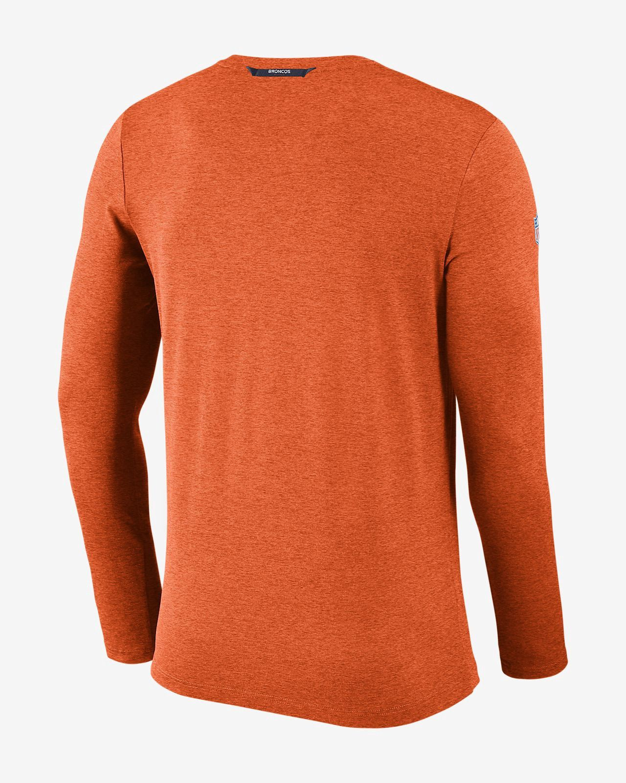 3871aab3aace2a Nike Dri-Fit Coach (Nfl Broncos) Men s Long Sleeve Football Top - 3XL Navy