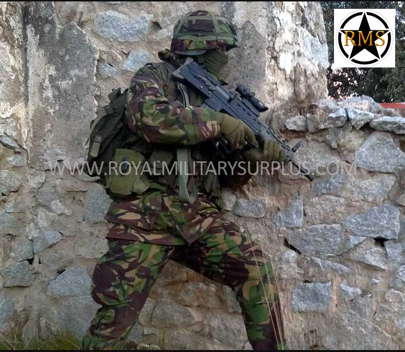 This Action Shot Presents Military Uniforms And Tactical Gear In A