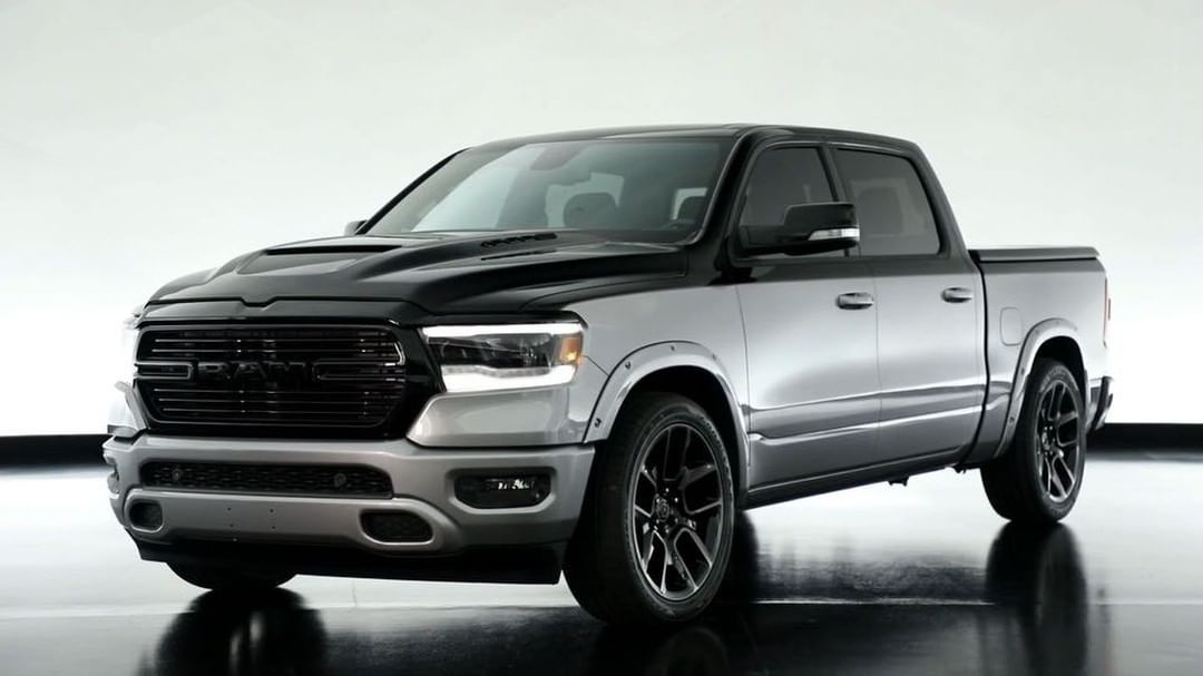 The Mopar Modified Ram 1500 Big Horn Low Down Is Lowered Aggressive And Loaded With Clean Exterior Flourishes Ram Ram Ram 1500 Ram Trucks Towing Vehicle
