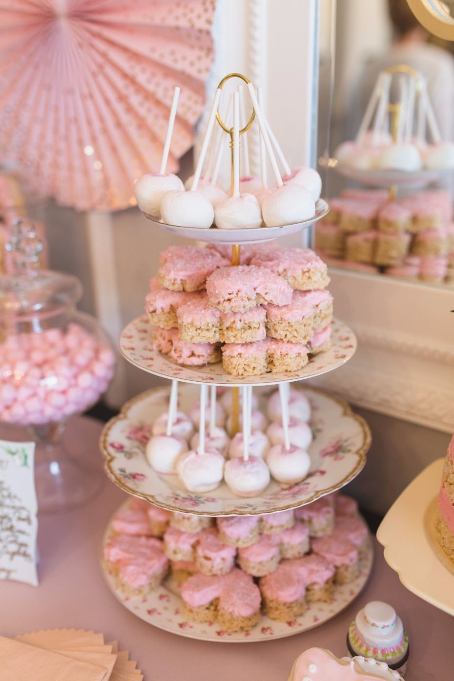How To Have The Prettiest Pinkest Bridal Shower Bridal Shower Desserts Baby Shower Dessert Table Bridal Shower Desserts Table