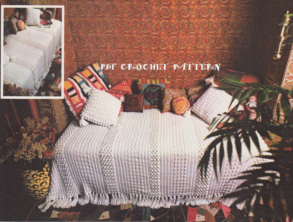 Instant Download Vintage Crochet Aran Isle by KatnaboxCrochet