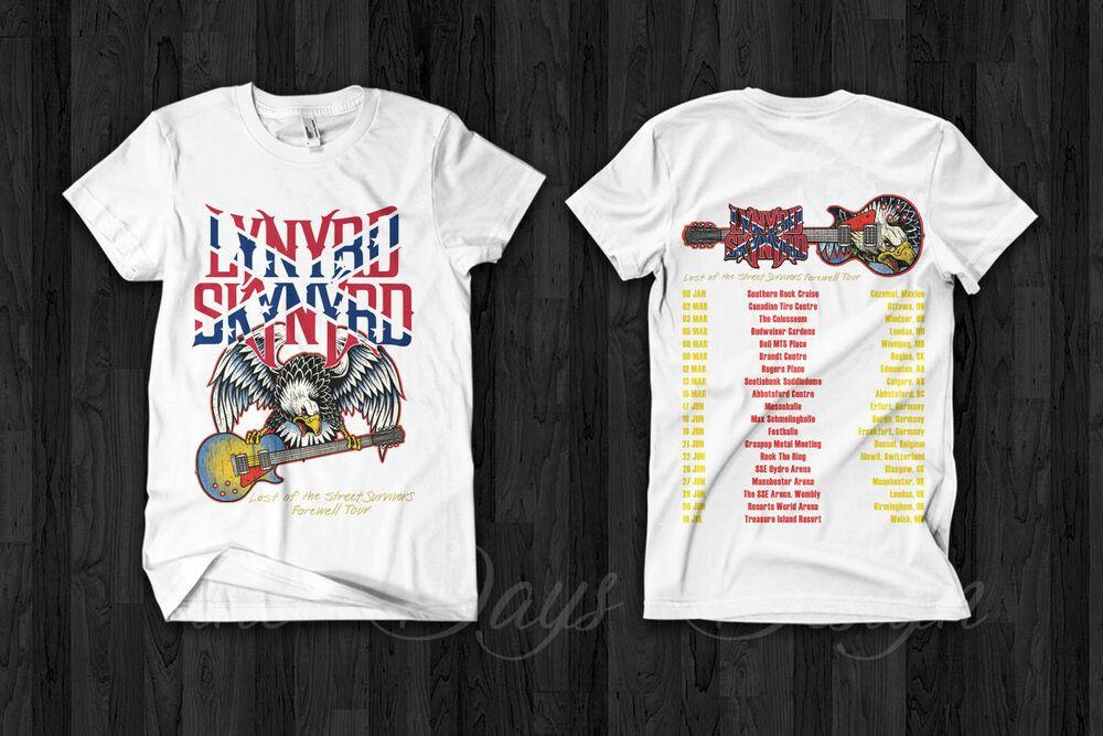 Lynyrd Skynyrd Farewell Tour 2019 T-Shirt S-2XL