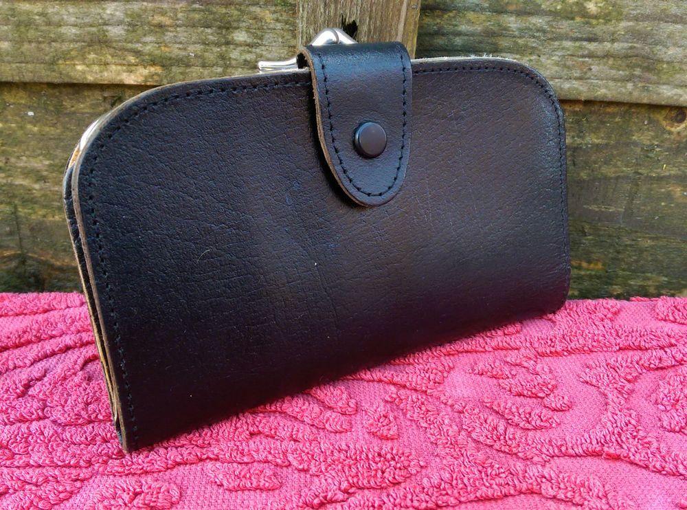 Devon Leathercrafts Handmade Leather Coin Purse & Money