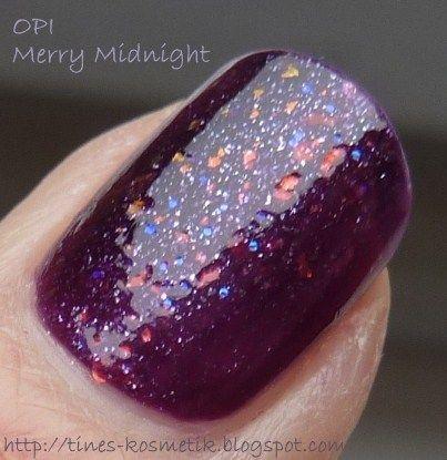 Tines Kosmetikblog: OPI Merry Midnight