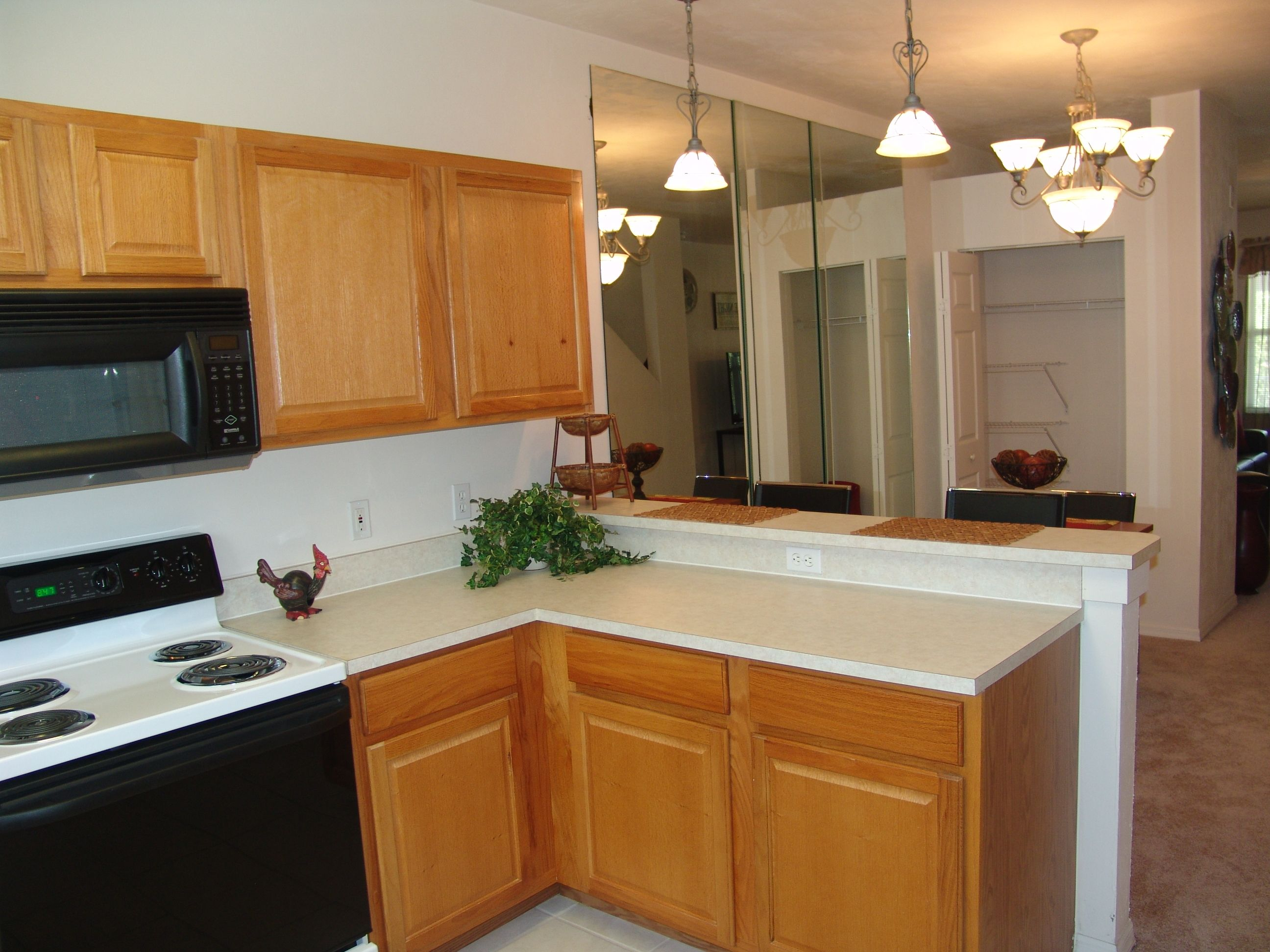 Hampton Oaks Model Apartment Communities Apartment Kitchen