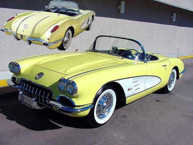 1958 Chevrolet Corvette – Pictures