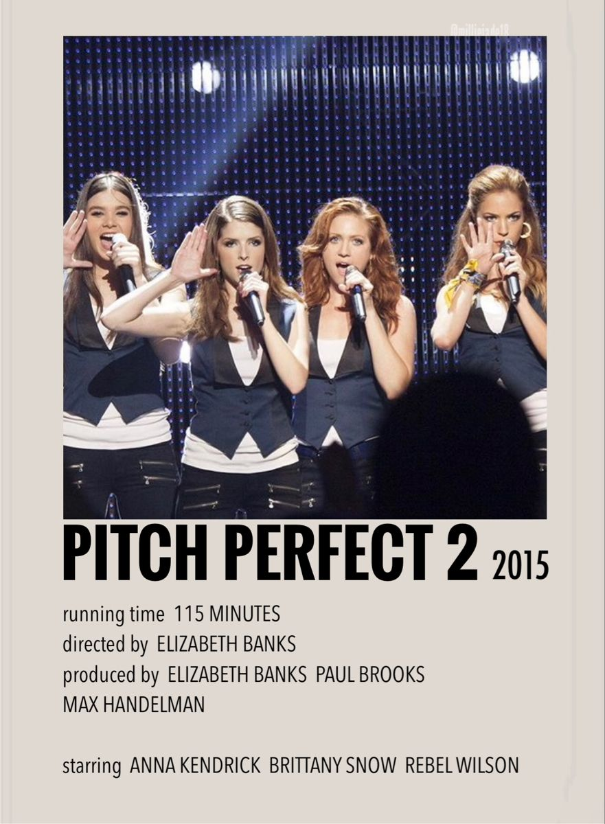 Pitch perfect 2 by Millie