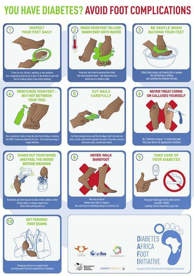 Diabetic Foot Care Posters Feet Care Diabetic Feet Diabetic Tips