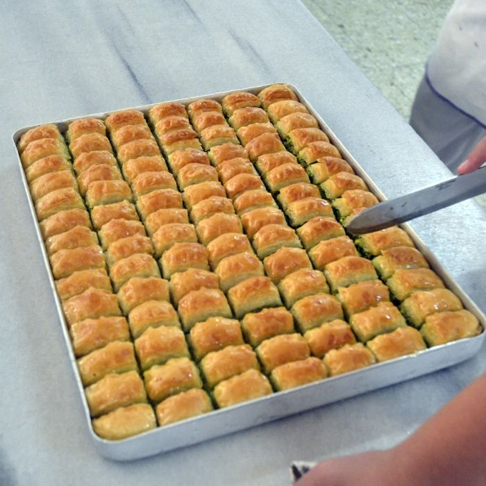 Gaziantep, located in southeast Turkey at the crossroads of the Mediterranean and Mesopotamia, is home to some of the world's the best baklava.