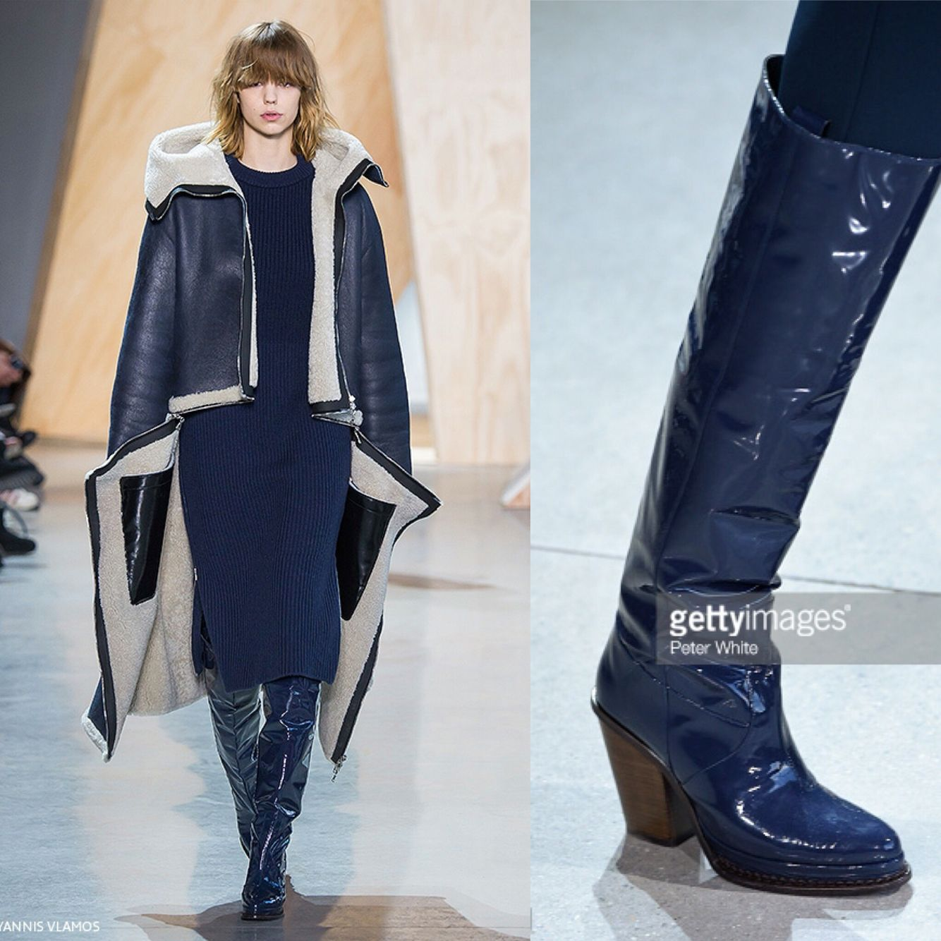 Lacoste f/w 2016. Those boots...❤️