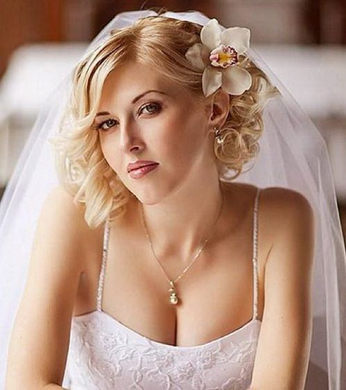 Wedding Short Curly Hairstyles 2014 ~ http://wowhairstyle.com ...