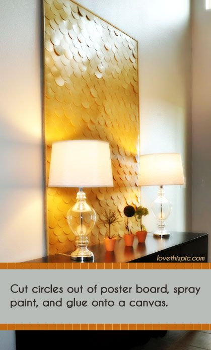Diy Poster Board Art By Tdz Lovethispic Diy Wall Decor Diy
