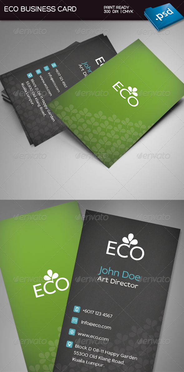 Eco business card business cards business and fonts eco business card colourmoves