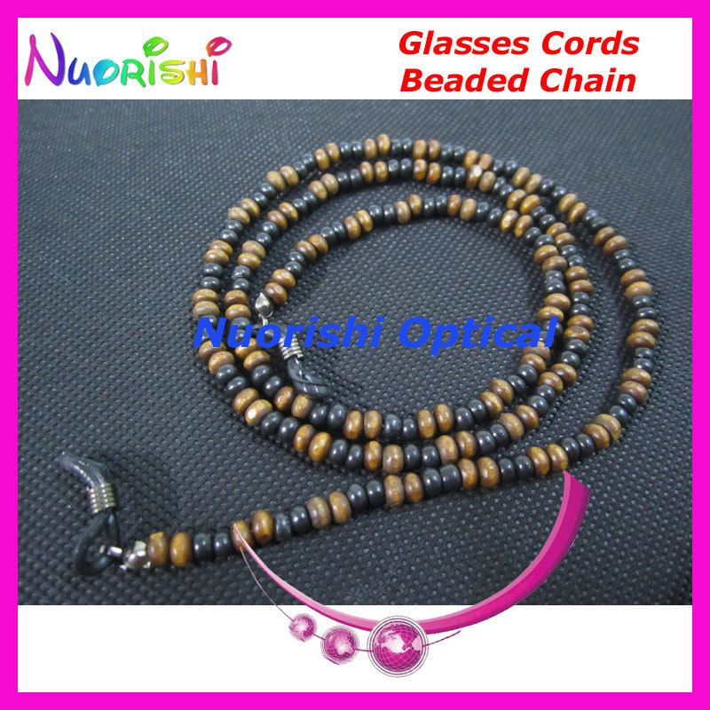 >> Click to Buy << 1pcs or 5 pcs or 10pcs L834 Nostalgic Wood Beaded Spectacle Glasses Chain Cords Lanyard Environmental Protection free shippin #Affiliate