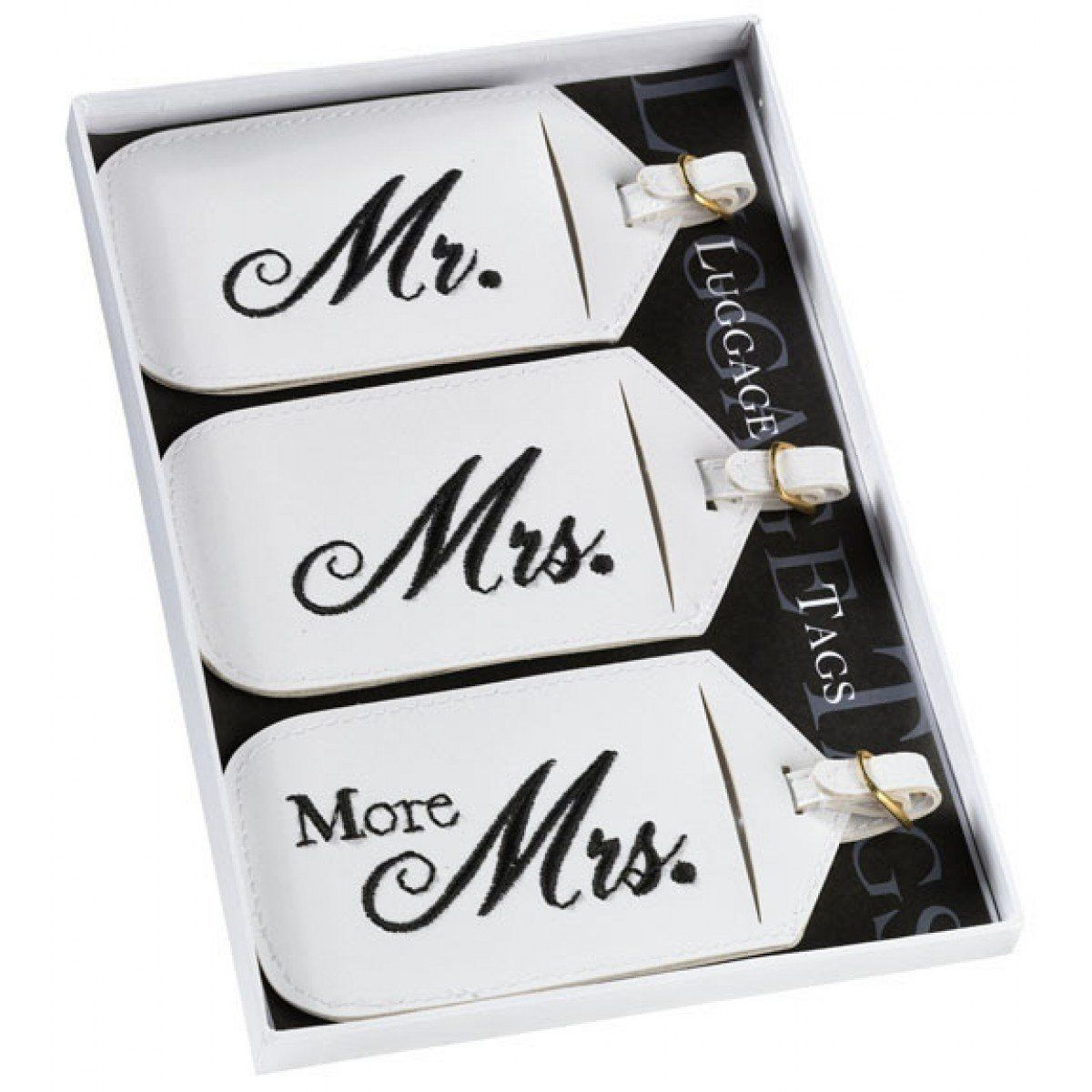 Lillian Rose Mr. And Mrs. Luggage Tags (Set