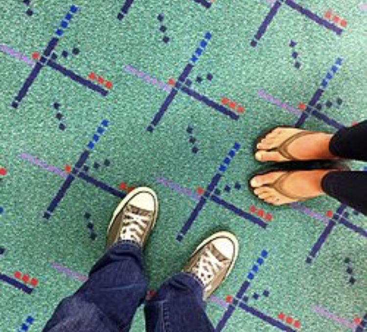 Portland International Airport Carpet 1 Portland airport