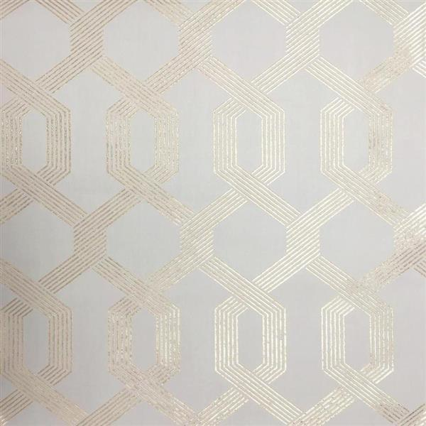 York Wallcoverings Geo Trellis Wallpaper Lowe's Canada