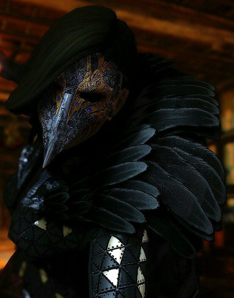 Raven Witch Armor | Skyrim Mod Armor | Skyrim armor mods