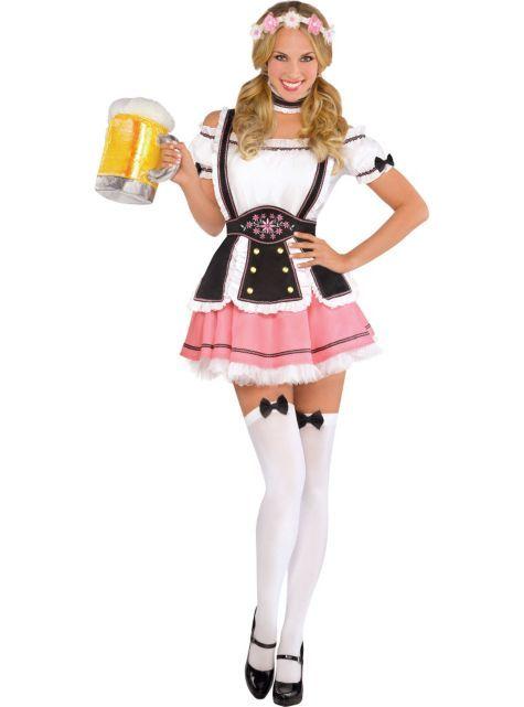 Adult Oktobermiss Beer Maid Costume - Party City | Examenfeest ...