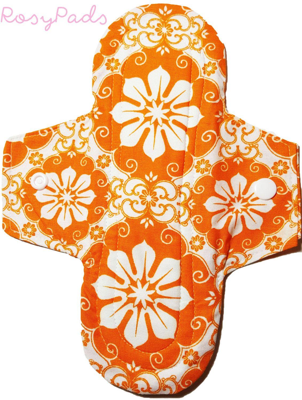 8 heavy flow pad mama cloth menstrual care reusable