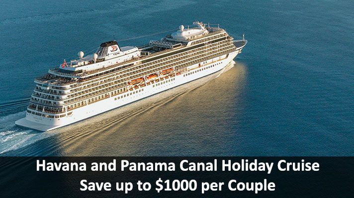 NEW: Havana and Panama Canal Holiday Cruise - https://traveloni.com/vacation-deals/new-havana-panama-canal-holiday-cruise/ #panamacanalcruise #vikingsun #holidaycruise #gocruising