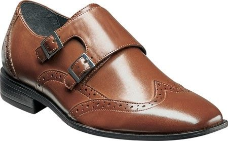 Outlet Release Dates Buy Best Stacy Adams Brewster Double Monk Strap Wingtip 43387(Boys') -Black Polyurethane Cheap Sale Perfect wj4O0vXP