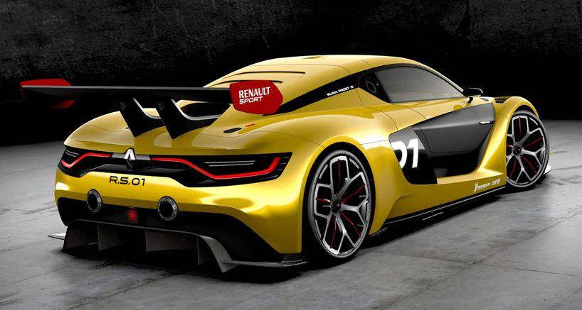 Renault Sport Announces R S 01 Single Seater Gt Race Car Renault Race Cars Sport Cars