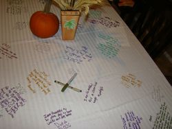 Tablecloth of Thanks