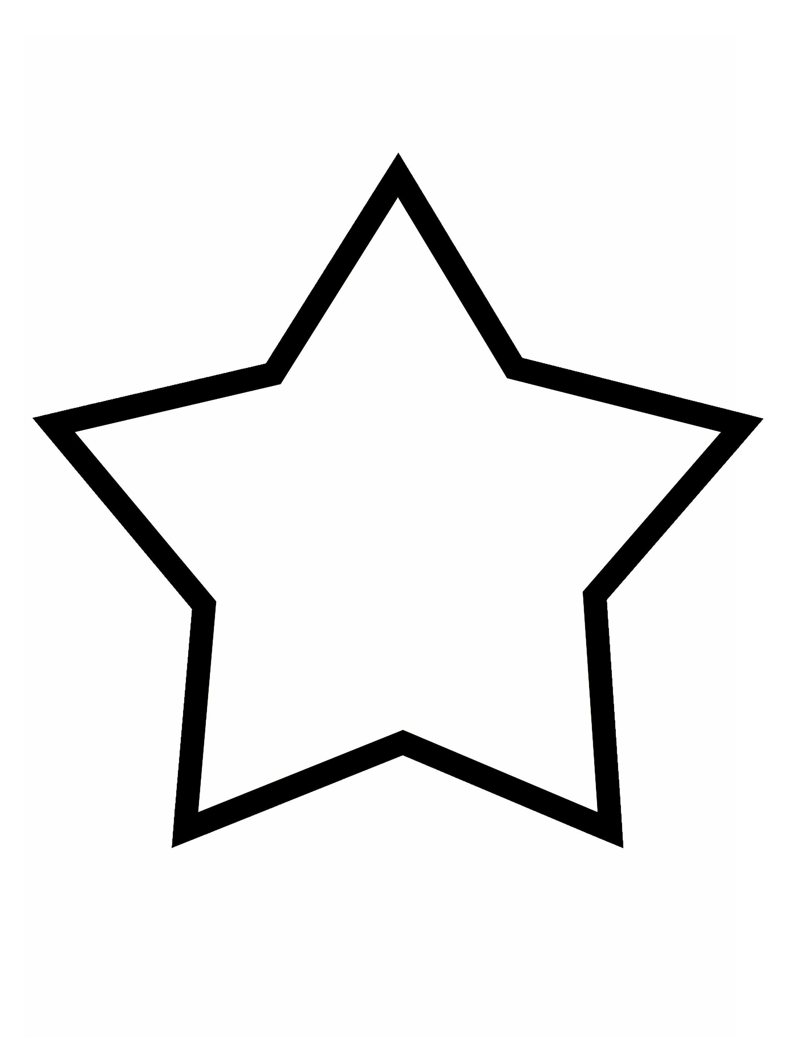 Printable star for Preschool Starlight Bible Story day 5