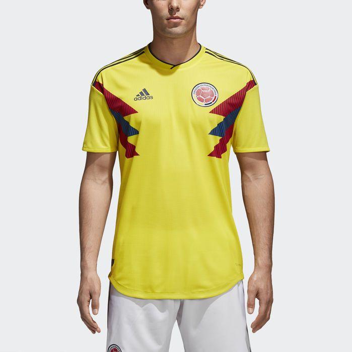 Adidas Colombia Home Womens Soccer Jersey | RLDM