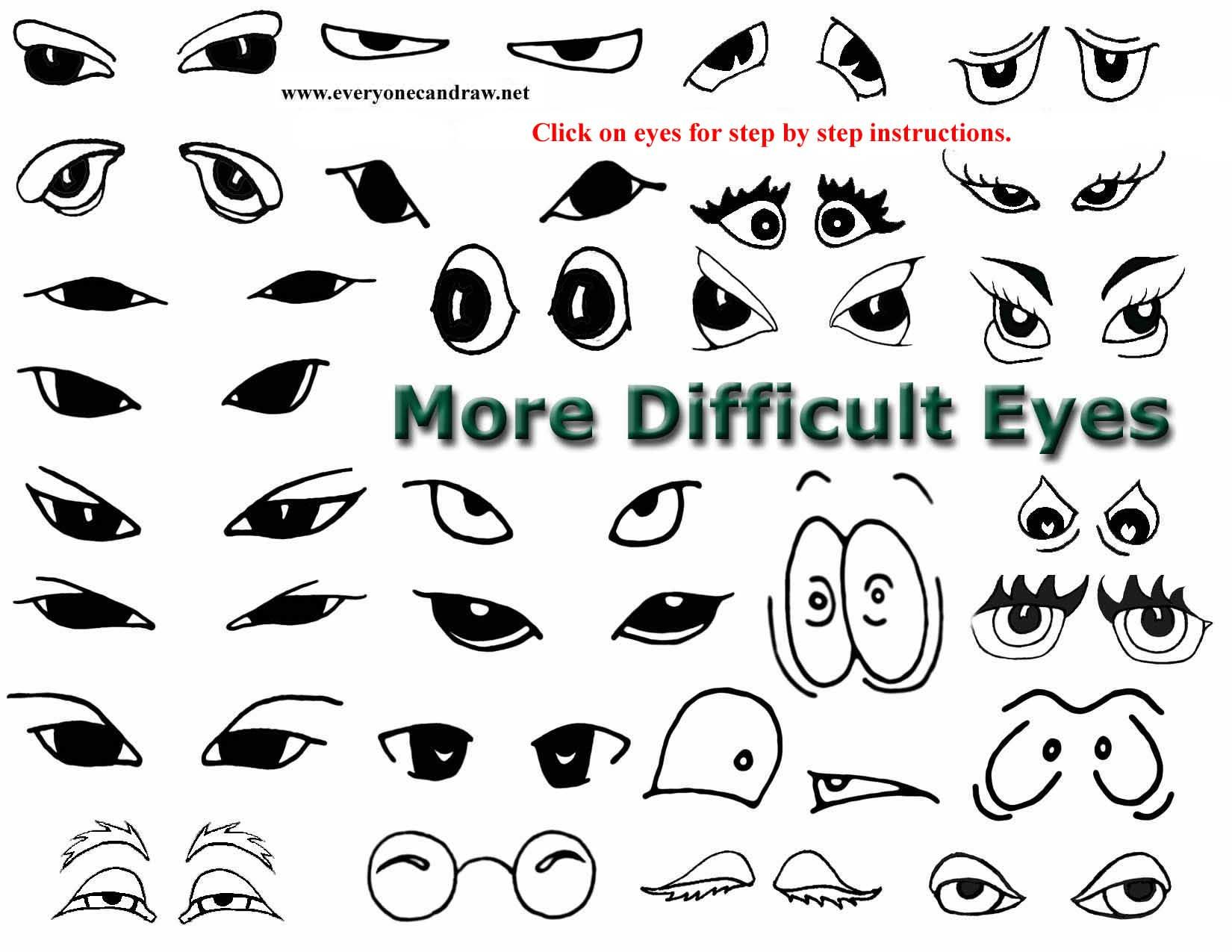 Intermediate Eyes More Difficult 3