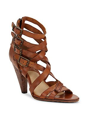 33ec3056985 Frye Mika Gladiator Open Toe Sandals - Brown - Size | Products ...