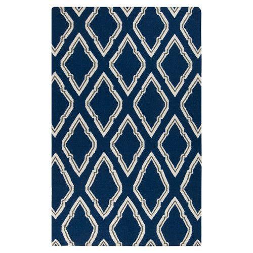 Fallon Blue/Ivory Rug | Wayfair