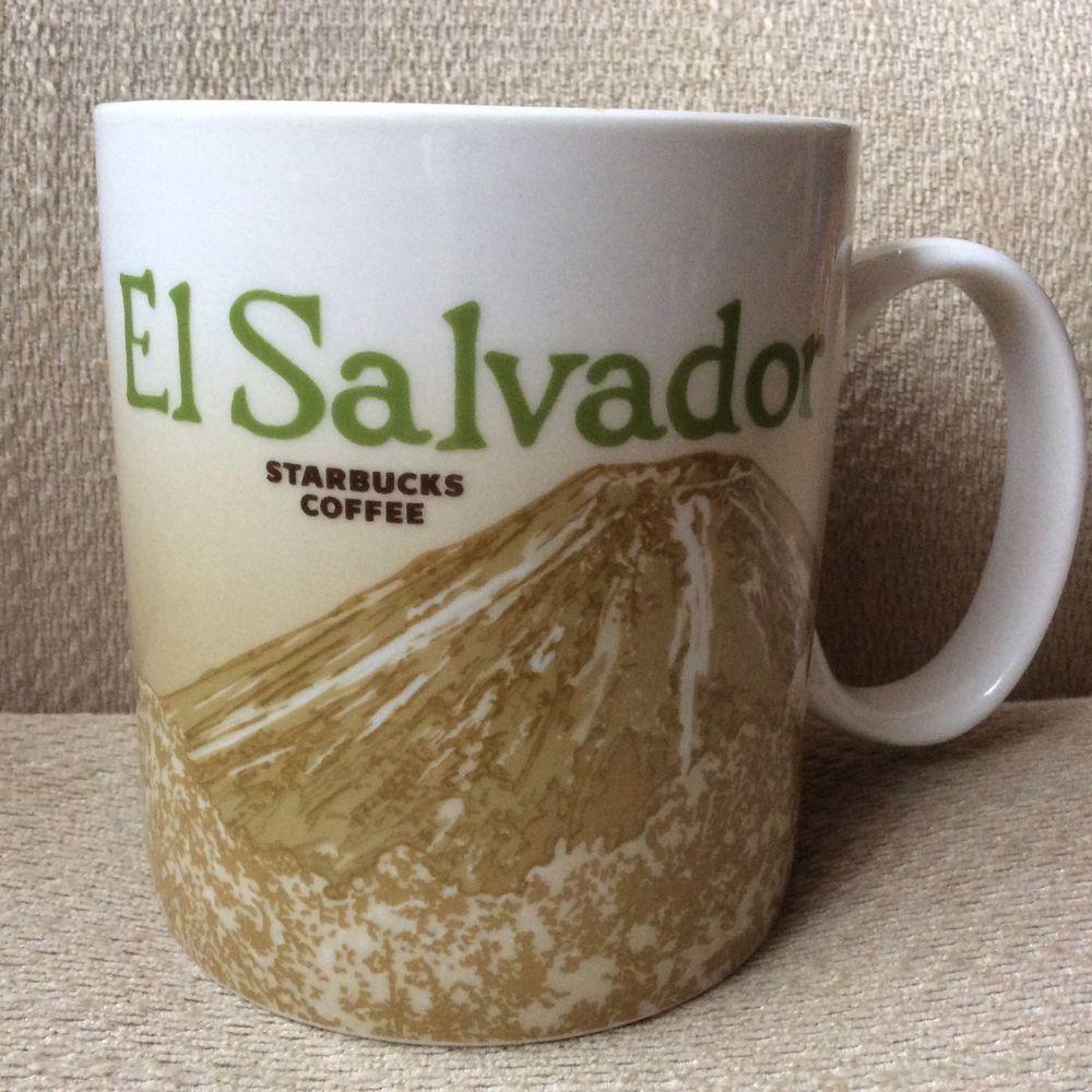 El Icon Coffee 16 2015 Series Cup Oz Mug Salvador Starbucks Global YED9W2HI