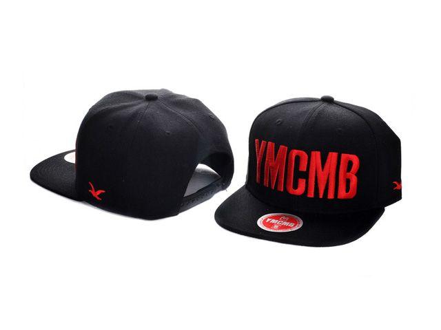 c1bd9c385 YMCMB Snapback Hats Caps Black 1844   Hiphop Caps/Hats   Snapback ...