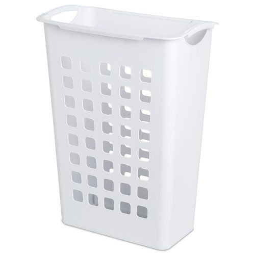 Perfect Size To Fit Two In The Built In Mainstays Sorting Laundry Hamper White Other Home Walmart Com Laundry Hamper
